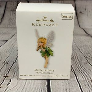 Hallmark Keepsake Fairy Mistletoe Ornament fairy